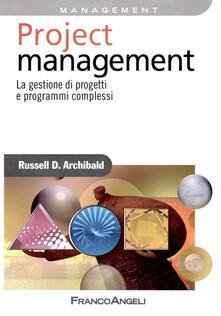 Amatigota.it Project management. La gestione di progetti e programmi complessi Image