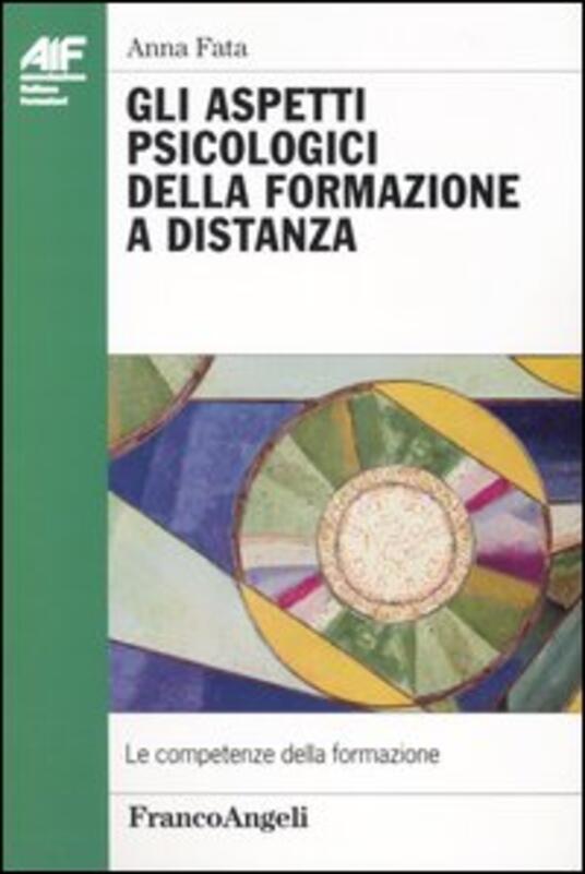 Aspetti psicologici della formazione a distanza - Anna Fata - copertina
