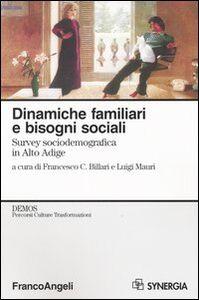 Libro Dinamiche familiari e bisogni sociali. Survey sociodemografica in Alto Adige