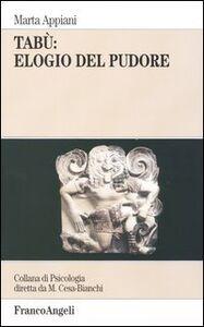 Libro Tabù: elogio del pudore Marta Appiani