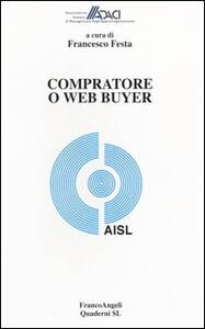 Libro Compratore o web buyer