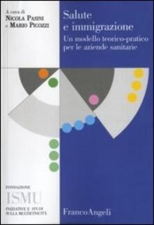 Librisulladiversita.it Salute e immigrazione. Un modello teorico-pratico per le aziende sanitarie Image