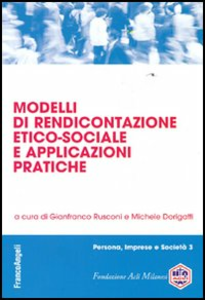 Libro Modelli di rendicontazione etico-sociale e applicazioni pratiche