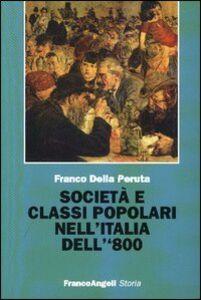 Società e classi popolari nell'Italia dell'800