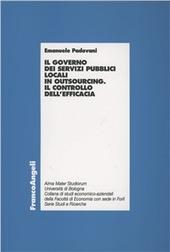 Il governo dei servizi pubblici locali in outsourcing. Il controllo dell'efficacia