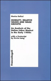 Mobility, relative wages and wage growth. An analysis of the Italian labor market in early 1980s