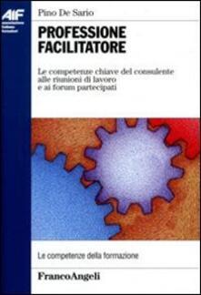Professione facilitatore. Le competenze chiave del consulente alle riunioni di lavoro e ai forum partecipati - Pino De Sario - copertina