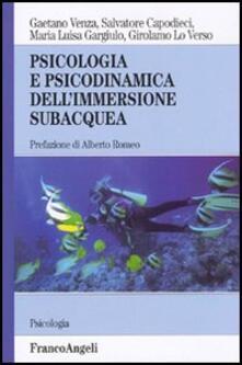 Osteriacasadimare.it Psicologia e psicodinamica dell'immersione subacquea Image