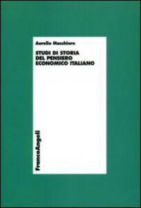 Studi di storia del pensiero economico italiano