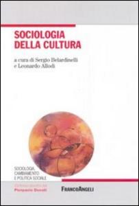 Libro Sociologia della cultura