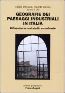 Libro Geografie dei paesaggi industriali in Italia. Riflessioni e casi studio a confronto