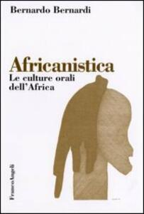 Africanistica. Le culture orali dell'Africa