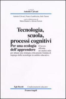 Steamcon.it Tecnologia, scuola, processi cognitivi. Per una ecologia dell'apprendere Image