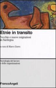 Foto Cover di Etnie in transito. Vecchie e nuove migrazioni in Sardegna, Libro di  edito da Franco Angeli