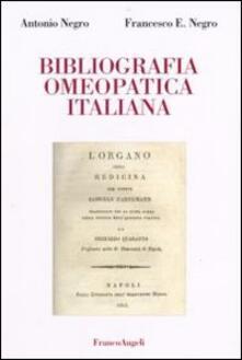 Bibliografia omeopatica italiana