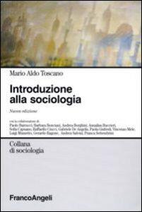 Libro Introduzione alla sociologia