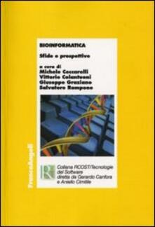Bioinformatica. Sfide e prospettive - copertina