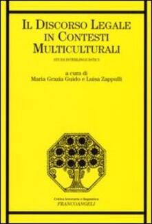 Ipabsantonioabatetrino.it Il discorso legale in contesti multiculturali. Studi interlinguistici Image
