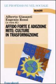 Affido forte e adozione mite: culture in trasformazione - copertina