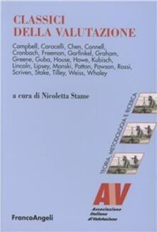 Classici della valutazione - copertina