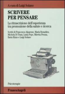 Scrivere per pensare. La ritrascrizione dellesperienza tra promozione della salute e ricerca.pdf