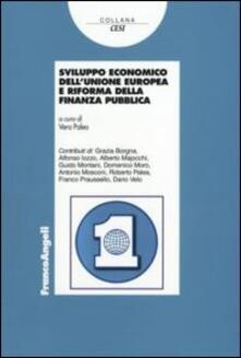 Sviluppo economico dell'Unione Europea e riforma della finanza pubblica - copertina