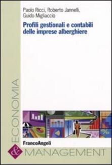 Librisulladiversita.it Profili gestionali e rivelazioni contabili delle imprese alberghiere Image