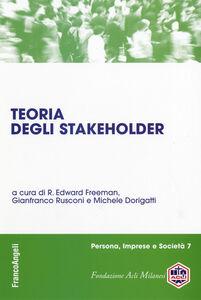 Libro Teoria degli stakeholder