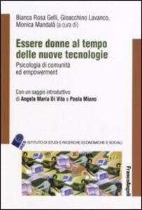 Libro Essere donne al tempo delle nuove tecnologie