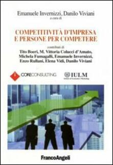 Competitività d'impresa e persone per competere - copertina