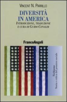 Diversità in America - Vincent N. Parrillo - copertina
