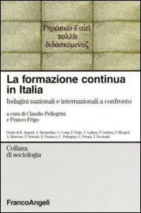 Libro La formazione continua in Italia. Indagini nazionali e internazionali a confronto