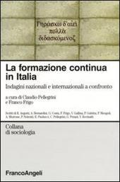 La formazione continua in Italia. Indagini nazionali e internazionali a confronto