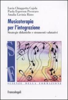 Winniearcher.com Musicoterapia per l'integrazione. Metodologie didattiche e procedure valutative Image