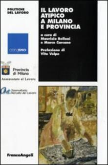 Il lavoro atipico a Milano e provincia - copertina