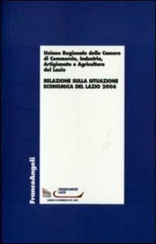 Relazione sulla situazione economica del Lazio 2006 - copertina