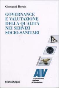 Governance e valutazione della qualità nei servizi socio-sanitari