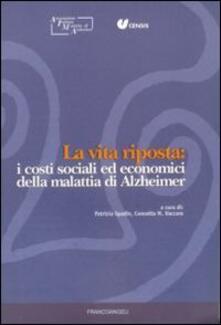 Promoartpalermo.it La vita riposta: i costi sociali ed economici della malattia di Alzheimer Image