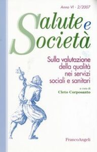 Libro Sulla valutazione della qualità nei servizi sociali e sanitari