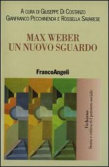 Max Weber. Un nuovo sguardo - copertina