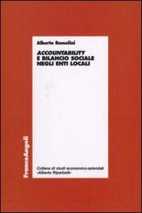 Libro Accountability e bilancio sociale negli enti locali Alberto Romolini