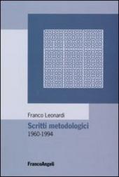 Scritti metodologici 1960-1994