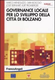 Governace locale per lo sviluppo della città di Bolzano - copertina