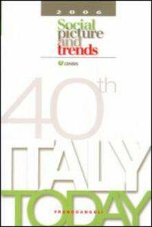 Italy today 2006. Social picture and trends - copertina