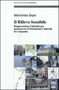 Libro Il rilievo sensibile. Rappresentare l'identità per promuovere il patrimonio culturale in Campania Marichela Sepe