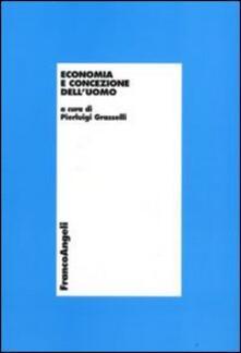 Economia e concezione dell'uomo - copertina