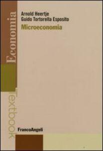 Libro Microeconomia Arnold Heertje , Guido Tortorella Esposito