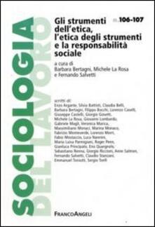 Gli strumenti dell'etica, l'etica degli strumenti e la responsabilità sociale - copertina