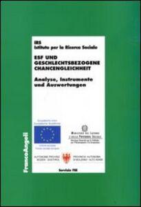 Libro Esf und geschlechtsbezogene chancengleichheit. Analyse, instrumente und auswertungen