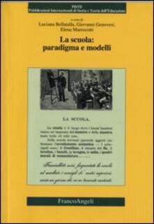 La scuola: paradigma e modelli - copertina
